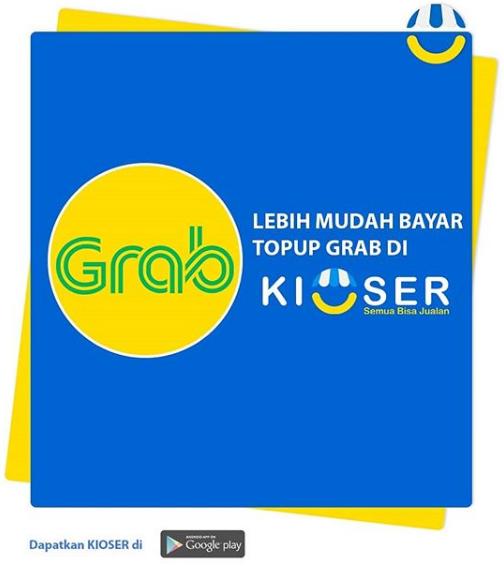 Cara Isi Saldo Grab Driver di Kioser ⋆ Blog Kioser