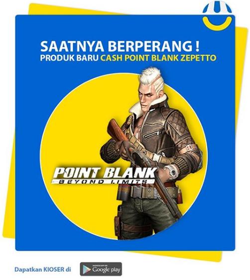Cara Beli Cash Point Blank Zepetto Blog Kioser