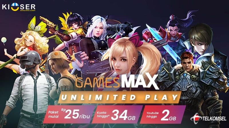Paket Game Telkomsel Unlimited Play ⋆ Blog Kioser